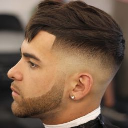 Odyzzeuz line up fade crop fringe mens hair trends 2018.jpg