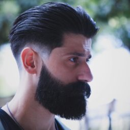 Rafa_underground medium hair men low fade beard hipster haircuts 2018.jpg