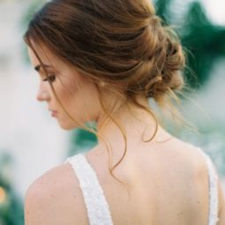 Soft romantic wedding updos 2018 wedding hair trends.jpg