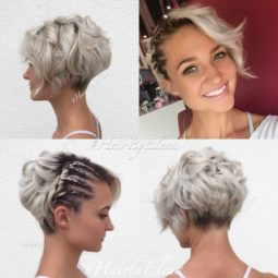 Stylish messy hairstyles for short hair women short haircut ideas.jpg