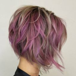 Stylish messy hairstyles for short hair women short haircut ideas 5.jpg
