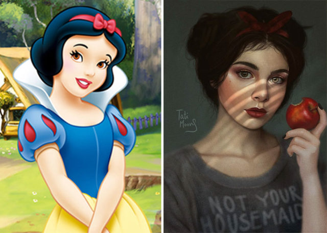 Artist illustrates cartoon characters in an adult way and the result was incredible 5a81529f4d2d1__880.jpg