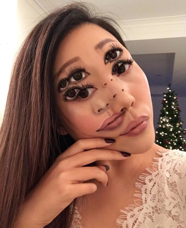 Makeup artist back to amazing the internet with her incredible makeup new pics 5aaf1bf952a46__880.jpg