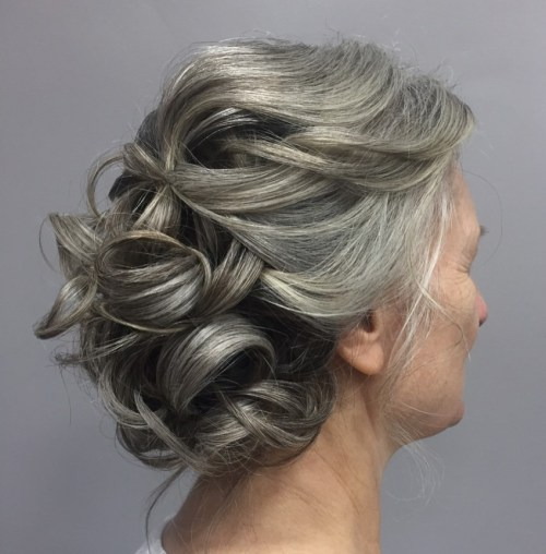 11 gray curly updo for mother of the bride.jpg
