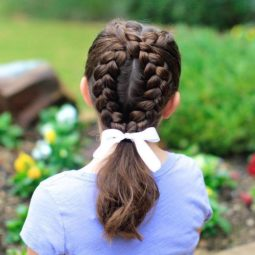 17 braids and pony for little girls.jpg