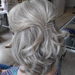 20 simple half updo for mother of the bride.jpg