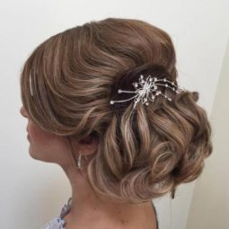 7 formal loose chignon updo.jpg