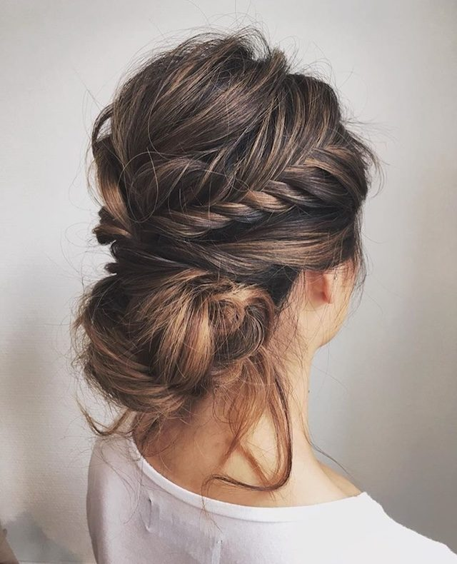 Romantic braided updo 2018 bridal hair trends.jpg