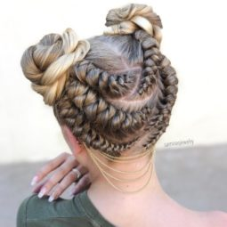 6 playful braided bun updo.jpg