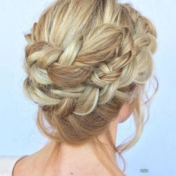 8 romantic double lace braid updo.jpg