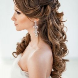 18 stunning half up half down wedding hairstyles elstile spb ru 3 333x500.jpg