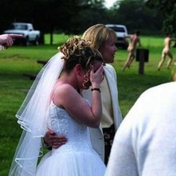 Funny photos of ruined weddings embarrassed bride wedding fails.jpg