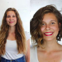 8before and after short hair lob cut wavy hair 1.png