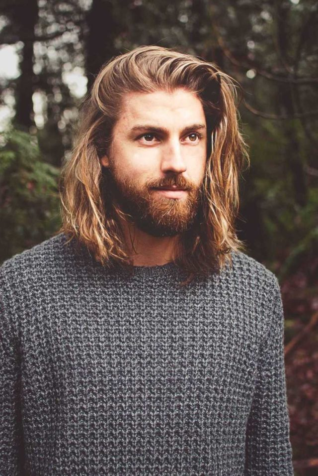 Macho Hairstyles for Men with Long Hair Awesome Hair finally caught up with the beard in 2018 for Jon
