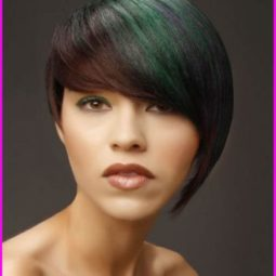 Best short asymmetrical haircuts for round faces 17 351x420.jpg