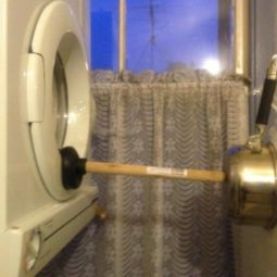 Ideas for solving strange problems broken washing machine door.jpg