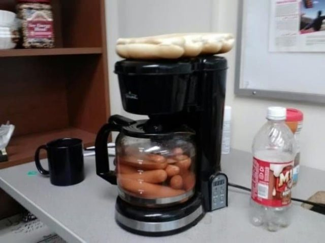 Ideas for solving strange problems coffee machine hot dogs.jpg