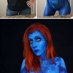 Brenna mazzoni epic cosplay transformations mystique.jpg