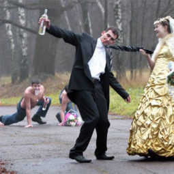 Drunk and dancing couple funny wedding.jpg