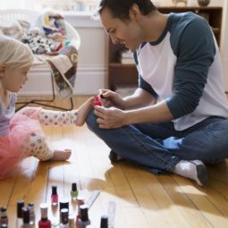 Father painting daughter toenails with fingernail polish 554994563 57f3c0ad5f9b586c35a47162 1.jpg