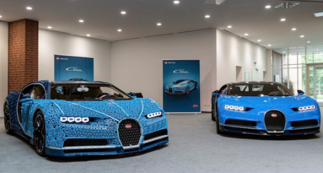 Bugatti chiron lego sports car vs real chiron.png