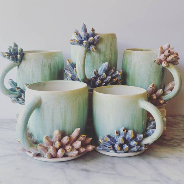 Katie marks spectacular coffee mugs with crystals.jpg