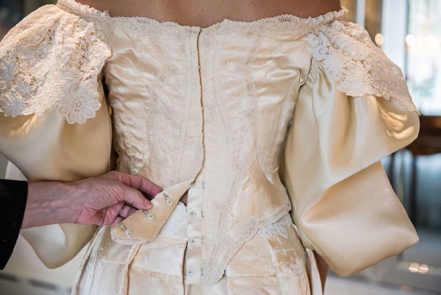 Heirloom wedding dress 11th bride 120 years old abigail kingston 4.jpg