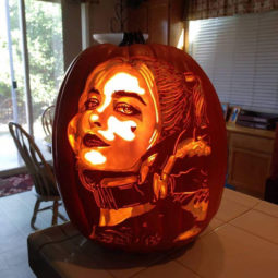 Cool pumpkin carving harley quinn.jpg