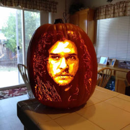 Cool pumpkin carving jon snow.jpg