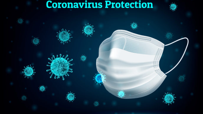 Coronavirus Protection eps