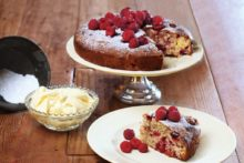 Fresh raspberry cake with sangiovese verjuice syrup 40443 2.jpg