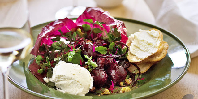 Roast beetroot walnut and goat s curd salad.jpg