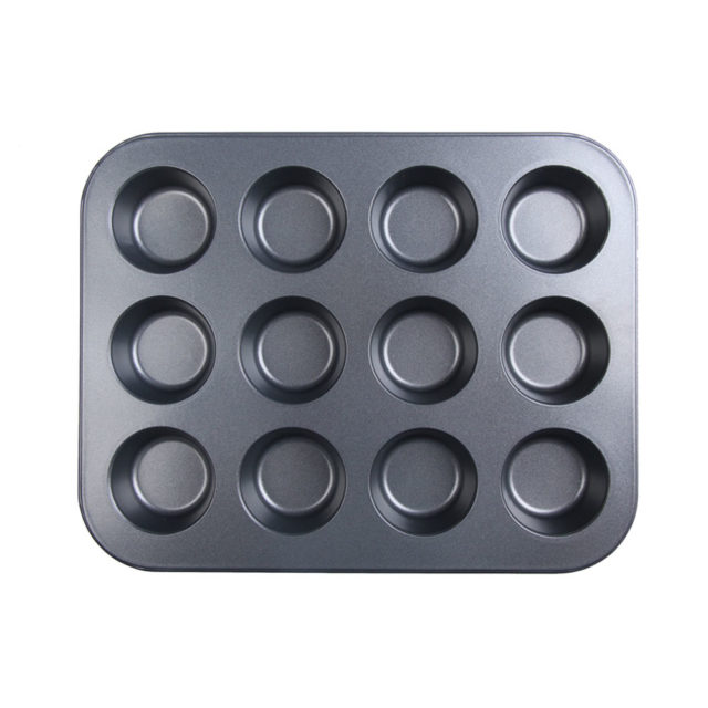 12 cup stainless steel nonstick font b baking b font font b pan b font tray.jpg