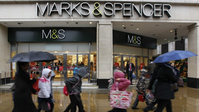 Marks and Spencer, obchody
