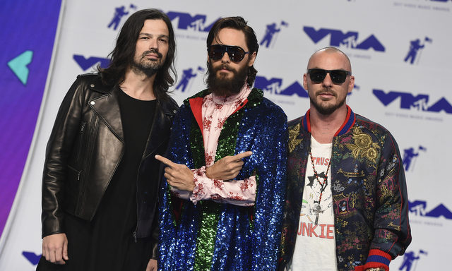 Tomo Miličević, Shannon Leto, Jared Leto - 30 seconds to mars