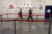 Taiwan China Airlines Strike