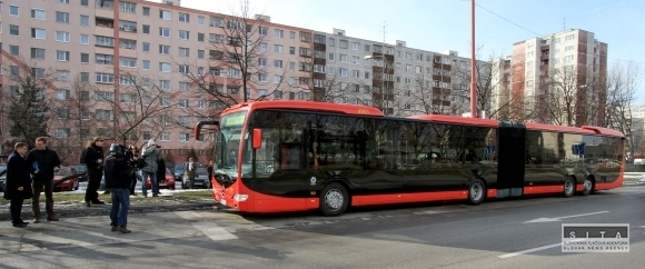 Test autobusu Mercedes Capacity