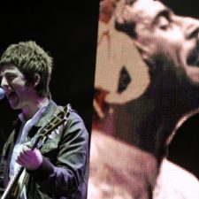 Liam Gallagher a Noel Gallagher