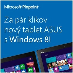 Za pár klikov nový tablet ASUS s Windows 8!