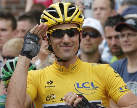 Fabian Cancellara na Tour de France 2012