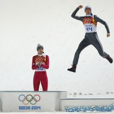 Peter Prevc, Kamil Stoch, Anders Bardal