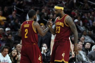 Kyrie Irving a LeBron James