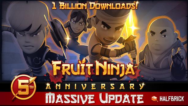 hra Fruit Ninja