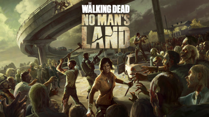 The walking dead no mans land, hra, mobil