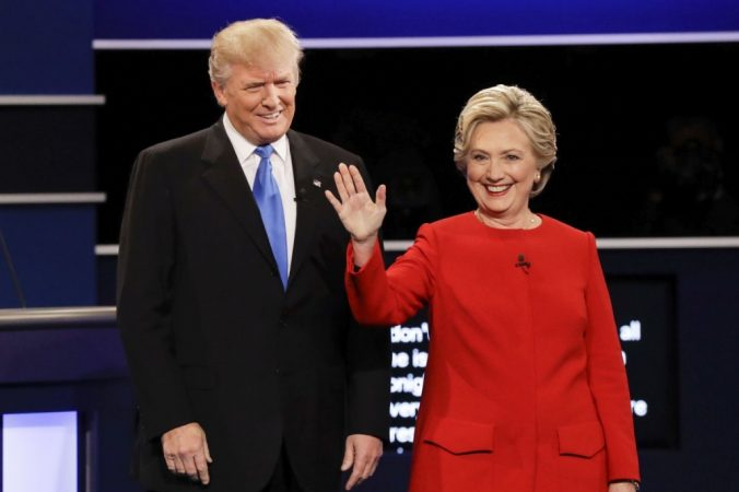 Donald Trump, Hillary Clintonová