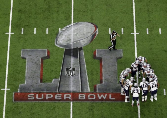 Super Bowl: Atlanta Falcons - New England Patriots