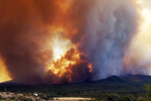 Western Wildfires Arizona