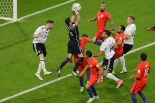 Soccer Confed Cup Germany Chile