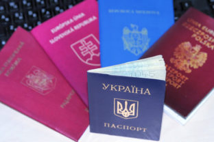 Passports of different countries.