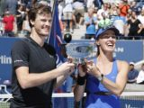 Martina Hingisová; Jamie Murray; US Open; tenis